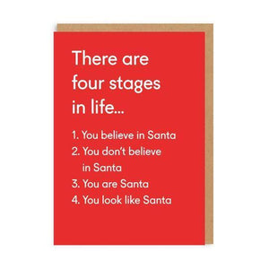 Four Stages Card