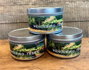 Wandering Trails Candle - Tin
