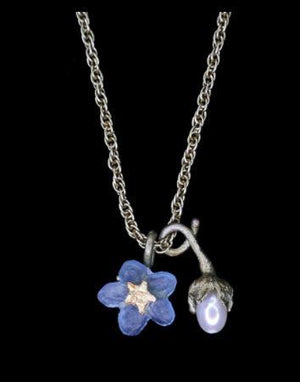 Forget Me Not Petite Flower Necklace