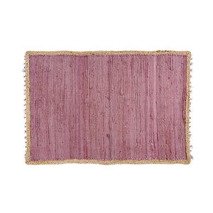 Atlas Braided Rug - Pink - 2x3