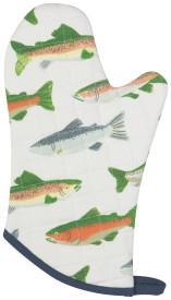 Gone Fishin Oven Mitt