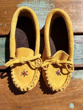 Beaded Toddler Moccasins