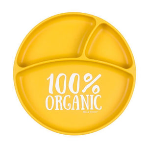 100% Organic Suction Plate