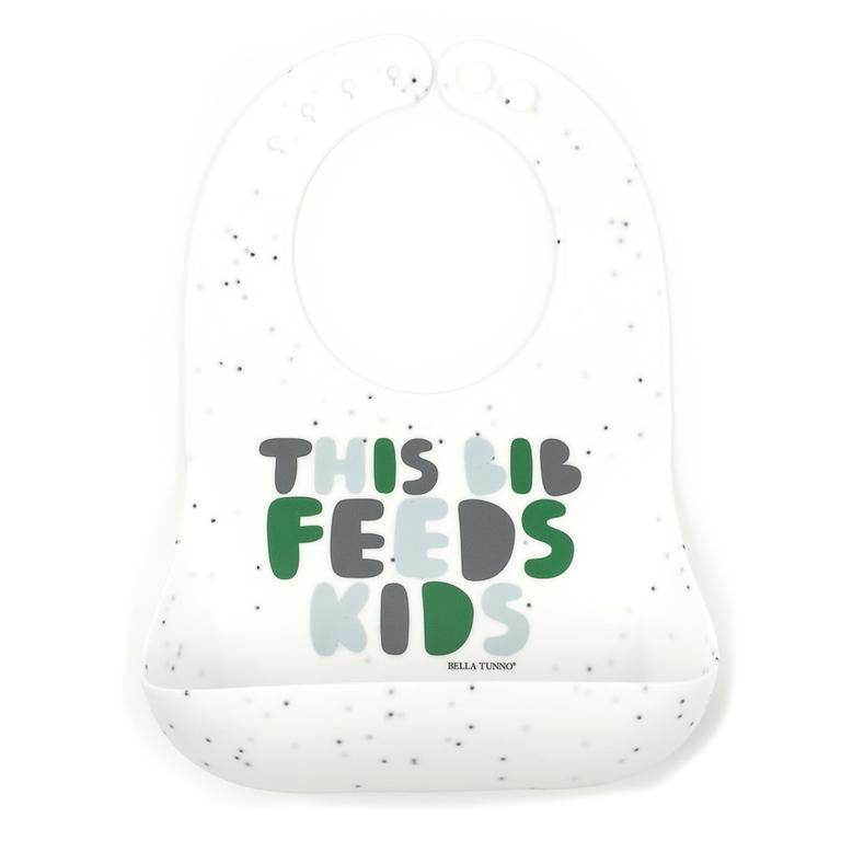 This Bib Feeds Kids Greens