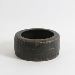 Tire Ceramic Planter
