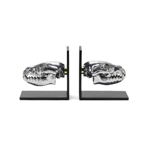 Skull Bookends - Fox