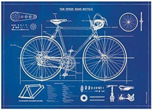 Ten Speed Road Bicycle Poster
