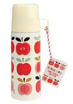 Vintage Apple Thermos with Cup