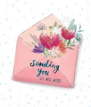 Get Well Wishes - Card