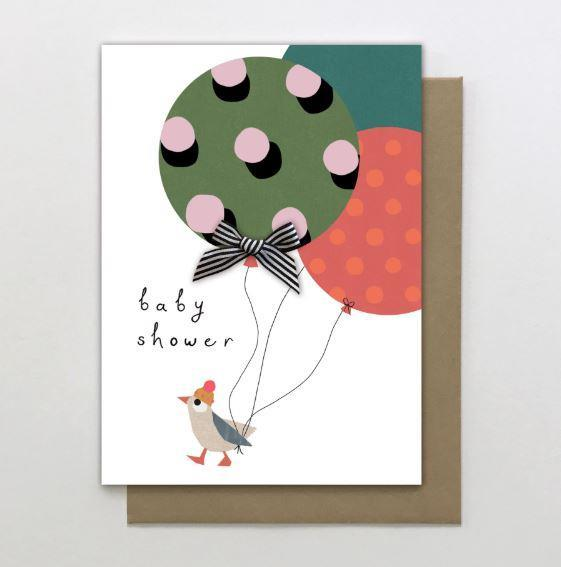 Baby Shower Bird - Card