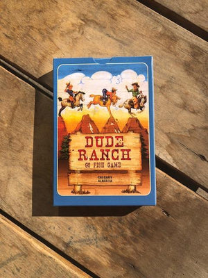 Dude Ranch Go Fish Card Game