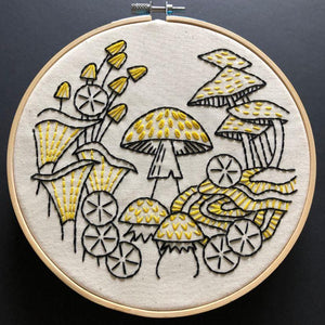 Fungus Among Us - DIY Embroidery Kit