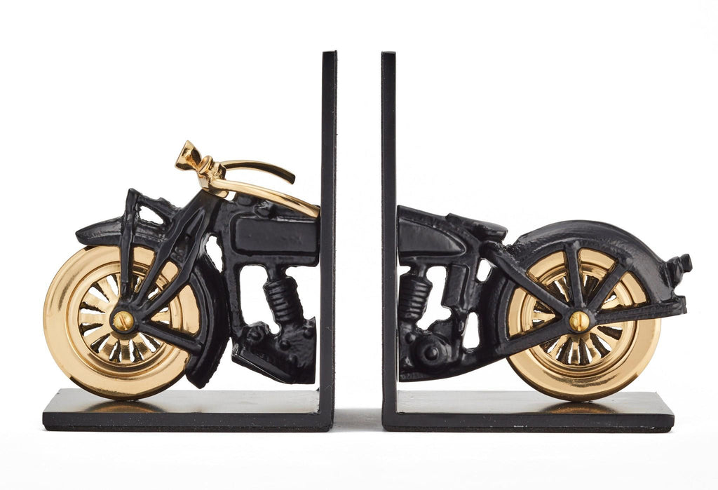 Motorcyle Bookends