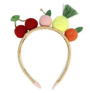 Fruit Pom Pom Headband