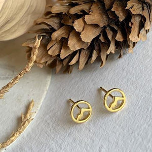 Mountain Gold Earrings