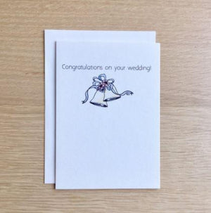Congrats On Your Wedding - Card