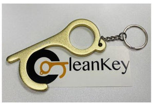 CleanKey Rustic Brass