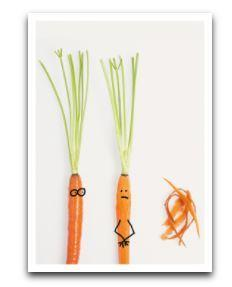 Shaved Carrot - Birthday Card