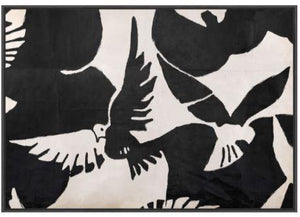 Braque- Inspired Oiseau Wall Art