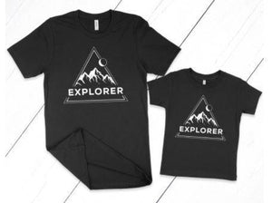 Explorer Tshirt - Black