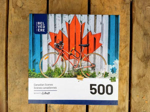 Cycling in Canada - 500 Piece Puzzle