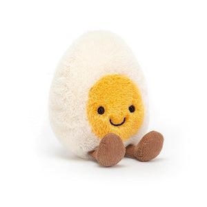 Amuseable Little Boiled Happy Egg Stuffed Animal