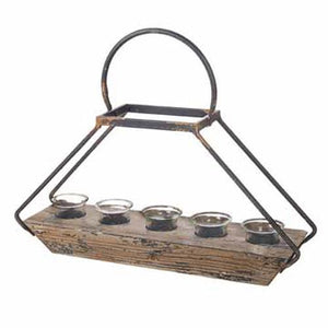 Distressed Tea Light Candle Holder