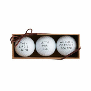 Let's Par Tee Golf Ball Set