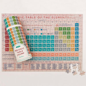 Periodic Table 300 Piece Puzzle In A Tube