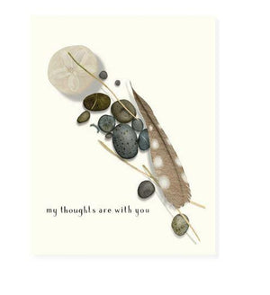 My Thoughts Are With You Card