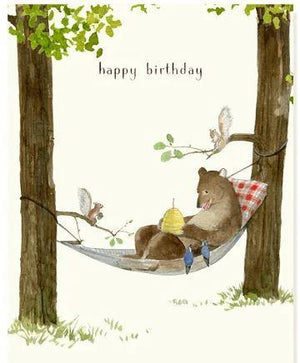 Happy Birthday Forest Friends - Card