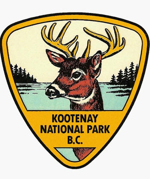 Kootenay National Park Sticker