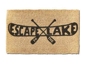 Escape to the Lake Doormat