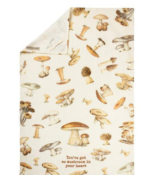 You've So Mushroom in Your Heart Tea Towel