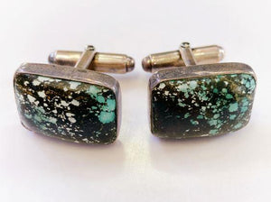 Turquoise Cufflinks - Rectangle