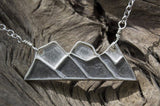 Three Sisters Mountain Necklace