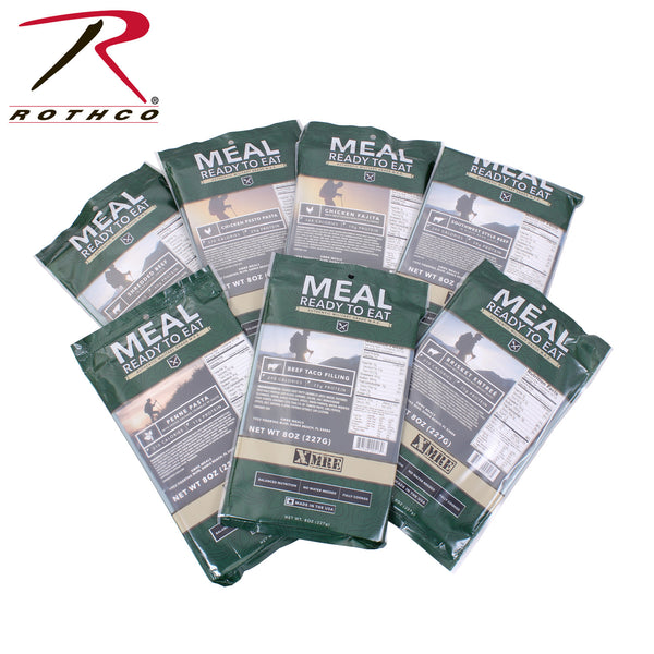 MRE and Emergency Food Meals and Kits