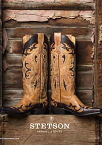 Stetson Boots Ladies & Men