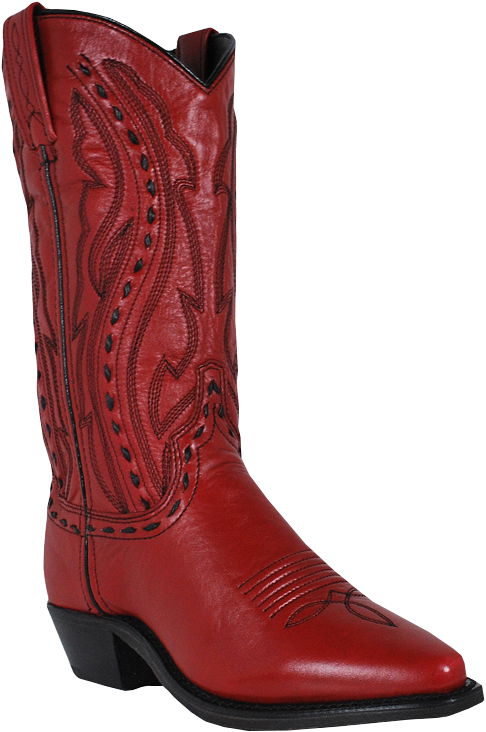 7d57ec4316d Abilene Ladies Red Whipstitched Cowgirl Fashion Boots Item A9002
