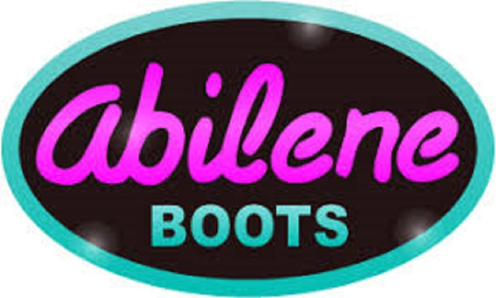 Abilene Women's White Western Cowgirl Boots - Round Toe Item A9054