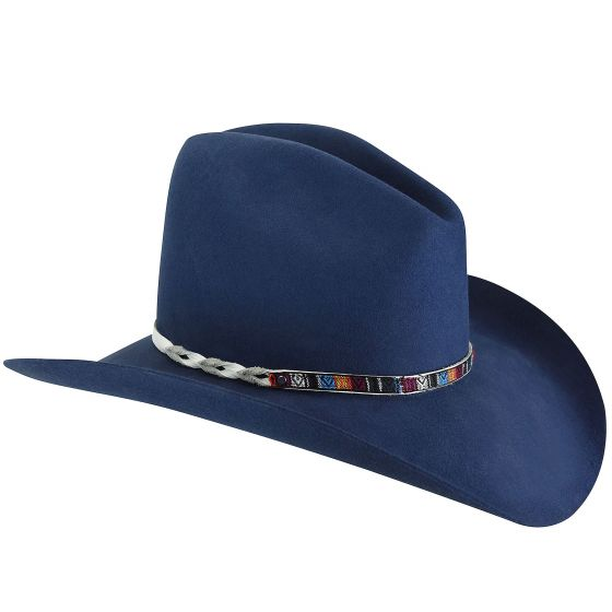 Renegade by Bailey Rampart Western Hat Blue or Black Item W18RDB 908279ff9870