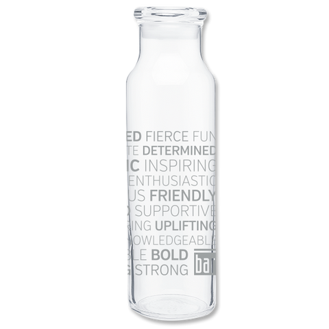 Bar Method - H2go Glass Water Bottle - Qualities