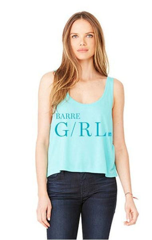 Bar Method Cutie Crop Tank - Barre Girl