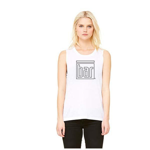 Bar Method Muscle Tank - Outline BAR Logo