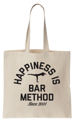 Bar Method Tote - Happiness Is