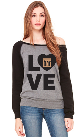 Bar Method Dancer Sweatshirt - Love