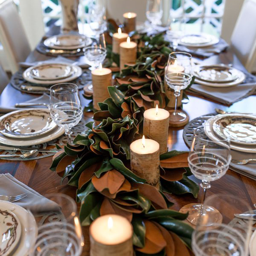 Selecting Seasonal Greenery for Your Table