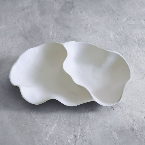 Nube Melamine Large Double Dip