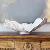 Large white decorative bowl