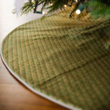 Elegant Italian Fabric Tree Skirt